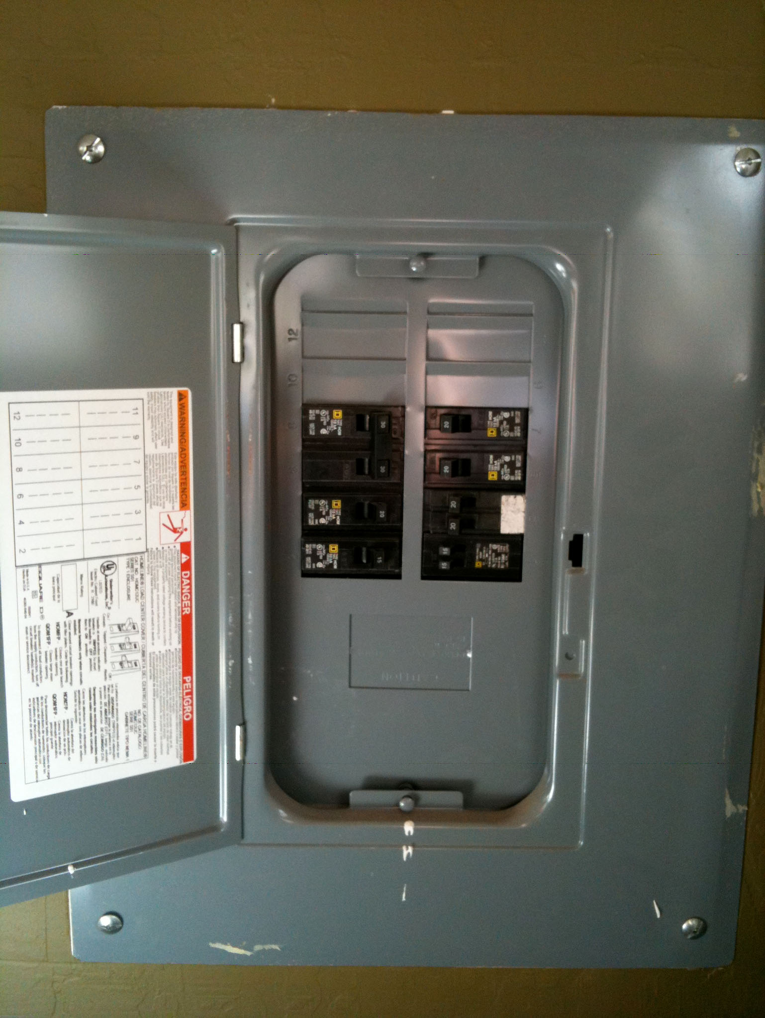 Sub Panel Upgrades, Troubleshooting & Repairs